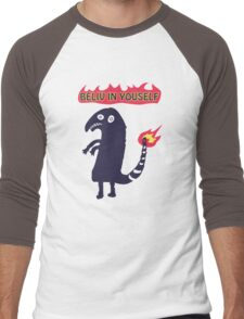 Shartmander - Believe in Yourself (Reddit Tattoo Charmander) Men's Baseball ¾ T-Shirt