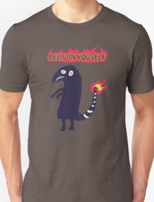 Shartmander - Believe in Yourself (Reddit Tattoo Charmander) T-Shirt