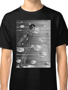 Graphic Novel Image - Robbie Digital enters the information super highway Classic T-Shirt