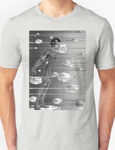 Graphic Novel Image - Robbie Digital enters the information super highway T-Shirt