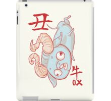 The Year of the Ox iPad Case/Skin