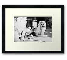 If She Gets Nowhere In Life At Least She Knows She's Pretty Framed Print