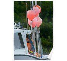 Orange floats Poster