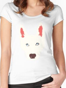 Olaf the Dog  Women's Fitted Scoop T-Shirt