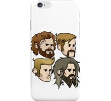 MASTODON cartoon quartet iPhone Case/Skin