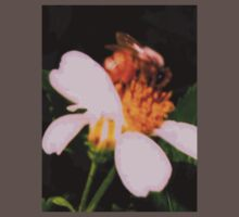 Bee on wildflower by ♥⊱ B. Randi Bailey