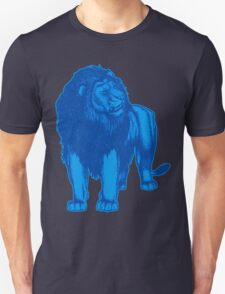 Blue Lion T-Shirts by Cheerful Madness!! Unisex T-Shirt