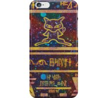 ANCIENT MEW iPhone Case/Skin