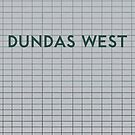 DUNDAS WEST Subway Station by Daniel McLaren