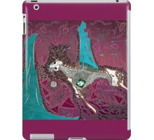 The Pink & Teal Hunt iPad Case/Skin