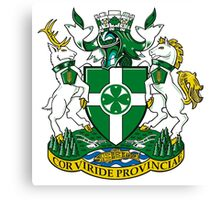 Chilliwack Coat of Arms Canvas Print