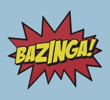 Bazinga I Gotcha new t-shirt Kids Clothes