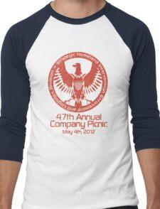 2012 Company Picnic Men's Baseball ¾ T-Shirt