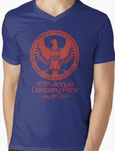 2012 Company Picnic Mens V-Neck T-Shirt