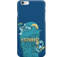 MY NEIGHBOR TOTORO - BLUE iPhone Case/Skin