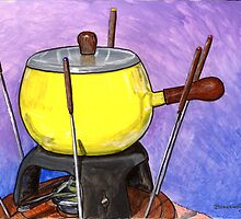 Fondue Set by bernzweig