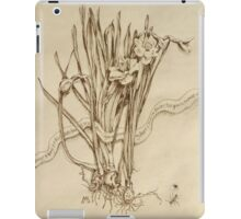 Narcissus and Echo - Walnut Ink iPad Case/Skin