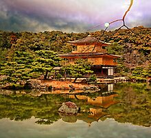 Kinkaku-ji, Kyoto, Japan. by vadim19