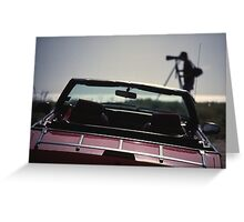 Photographer and car Greeting Card