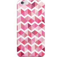 Pink chevron iPhone Case/Skin