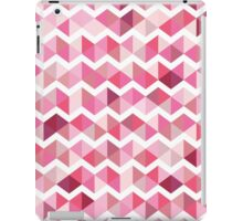 Pink chevron iPad Case/Skin