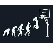 Basketball Evolution Of Man Photographic Print