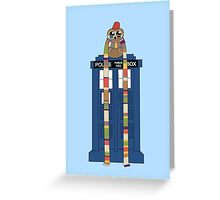 Doctor Hoo Greeting Card