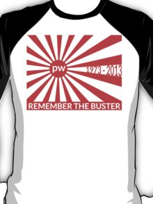 Remember The Buster - Paul Walker Tribute T-Shirt