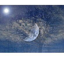 Moon Sky Photographic Print