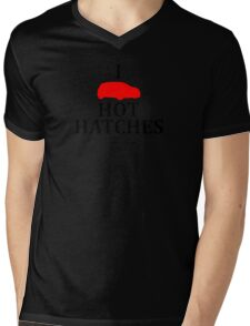 I Heart Hot Hatches Mens V-Neck T-Shirt
