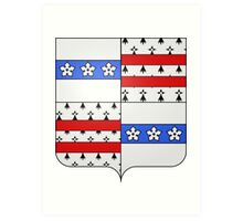 Drummondville Coat of Arms  Art Print