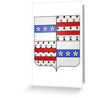 Drummondville Coat of Arms  Greeting Card