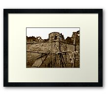 The binding that holds life together Framed Print