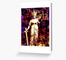 Themis: Greek God of Justice Greeting Card