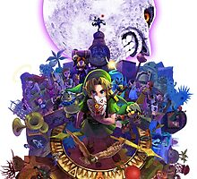 Majora's Mask 3D by luterocleric