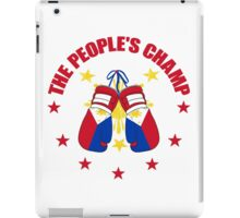 NEW! Manny The People's Champ Boxing iPad Case/Skin