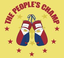 NEW! Manny The People's Champ Boxing Kids Tee
