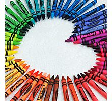 Love is colorful Photographic Print