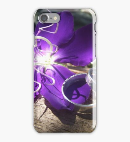 wedding bands colour iPhone Case/Skin
