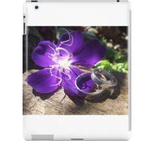 wedding bands colour iPad Case/Skin