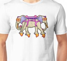-ANCIENT  PSYCHIC TANDEM WAR ELEPHANT- Unisex T-Shirt