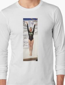 Jena floats in the air Long Sleeve T-Shirt