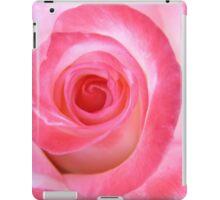 Pink White Rose iPad Case/Skin