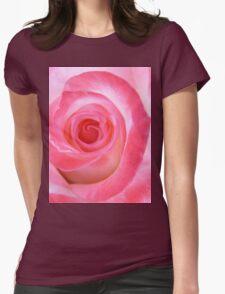Pink White Rose T-Shirt