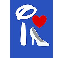 I Heart Cinderella (Inverted) Photographic Print
