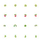 Grass Pokemon Stickers 2 by Alexandra Salas