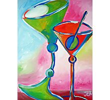 Drunk Martinis Photographic Print