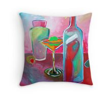 Martinis and Vodka Throw Pillow