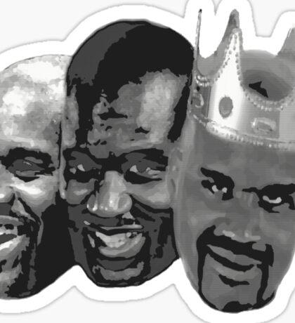 Shaq is the King of NBA Sticker