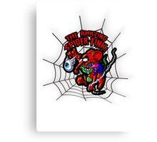 SPIDER FINK Canvas Print